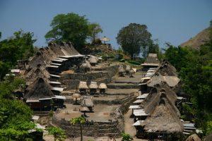 Bena Village on flores island