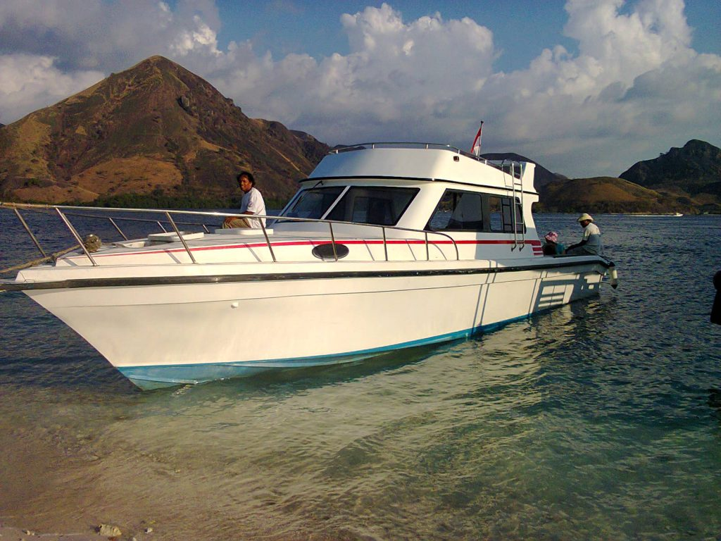 Boat from Labuan Bajo to Pink Beach