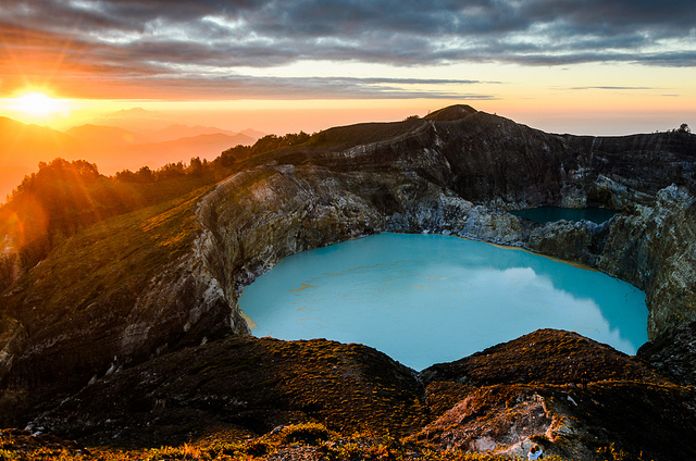 Kelimutu Lake on flores