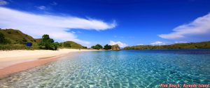 Pink Beach on Komodo island