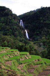 tengkulese waterfall - ruteng flores