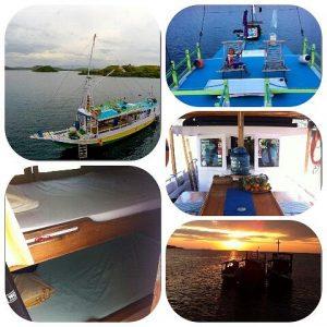Cabin Boat With Fan